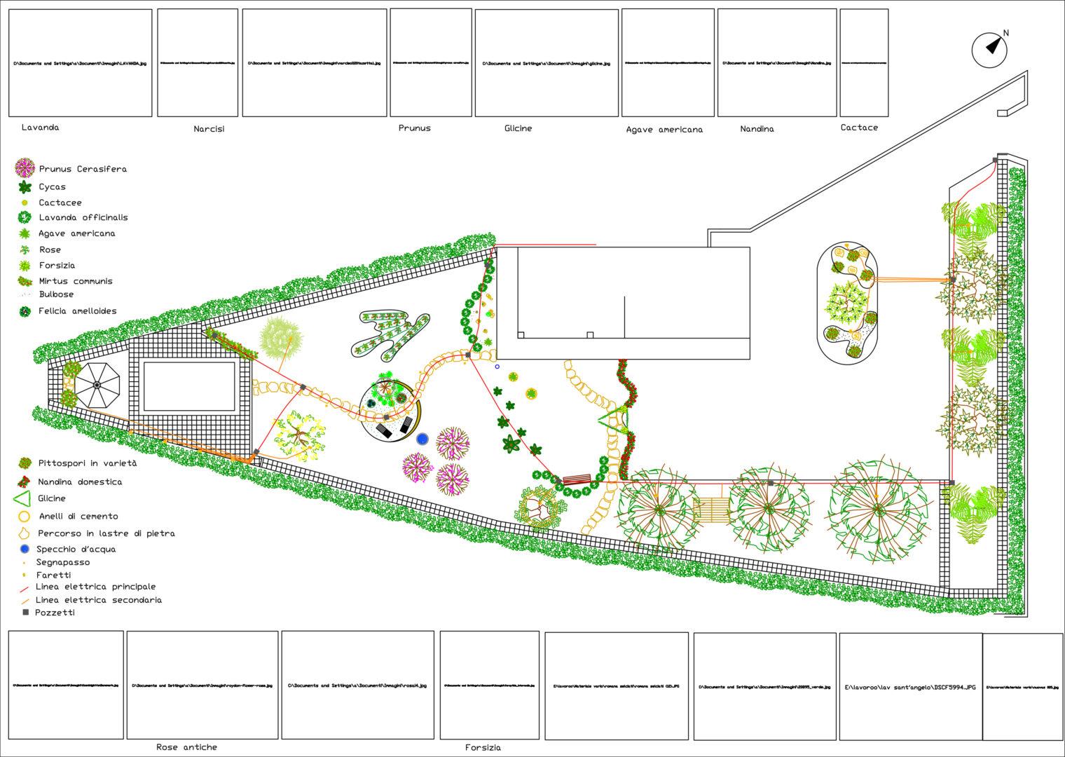 Giardino privato paesarte - Progetto giardino privato ...